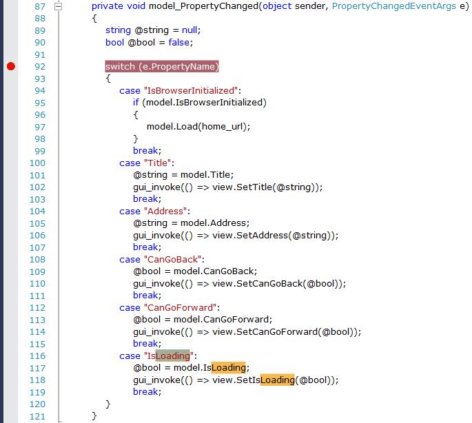 CEFSharp WPF – Getting Started | Dylan's Web
